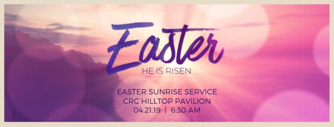 Sunrise service 2019